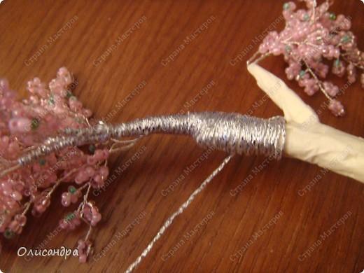 Master Class, Craft, gyöngyfűzés termék: Silver Sakura ...  MC ...  Gyöngyök, szálak, Wire.  Fotó 28