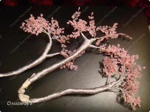 Master Class, Craft, gyöngyfűzés termék: Silver Sakura ...  MC ...  Gyöngyök, szálak, Wire.  Fotó 29