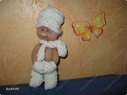 Куклы Шитьё: Сплюшка проснулся....и оделся... (добавление) Капрон. Фото 1
