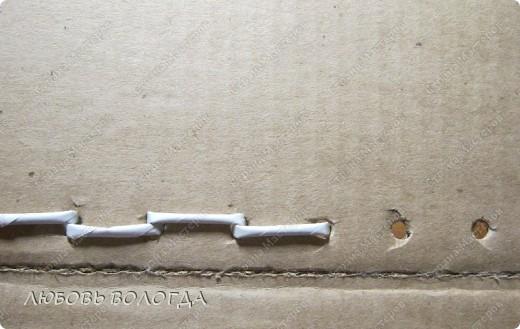 Мастер-класс Плетение: Коробка к выступающим дном  Бумага газетная. Фото 8