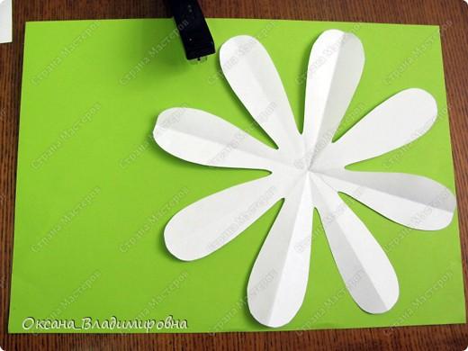 Как сделать ромашку из бумаги своими руками фото