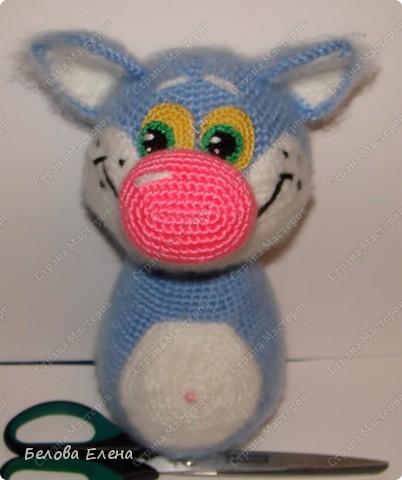 Игрушка, Мастер-класс Вязание крючком: Кошка Фрося+ МК Пряжа Отдых. Фото 11