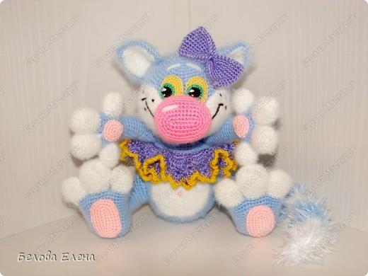 Игрушка, Мастер-класс Вязание крючком: Кошка Фрося+ МК Пряжа Отдых. Фото 1
