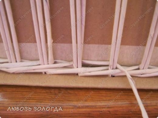Мастер-класс Плетение: Коробка к выступающим дном 2 серия)))  Бумага газетная. Фото 6