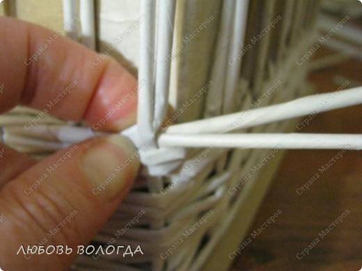 Мастер-класс Плетение: Коробка к выступающим дном 2 серия)))  Бумага газетная. Фото 14