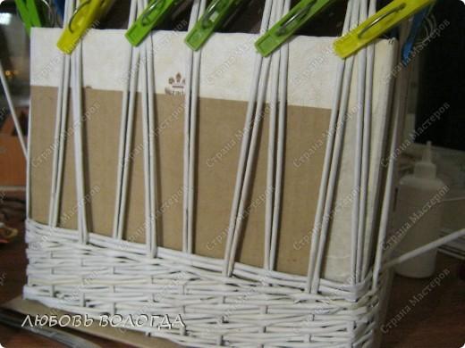 Мастер-класс Плетение: Коробка к выступающим дном 2 серия)))  Бумага газетная. Фото 16