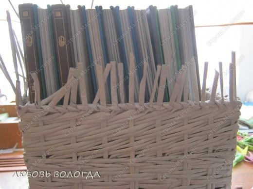 Мастер-класс Плетение: Коробка к выступающим дном 2 серия)))  Бумага газетная. Фото 22
