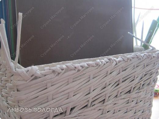 Мастер-класс Плетение: Коробка к выступающим дном 2 серия)))  Бумага газетная. Фото 23