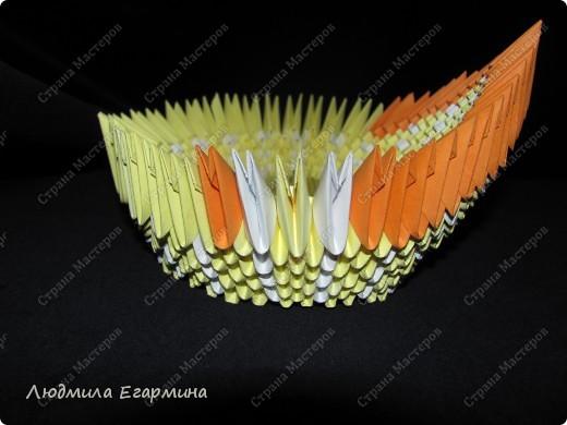 Мастер-класс,  Оригами модульное, : Пасхальная курочка Ряба. Бумага Пасха, . Фото 10
