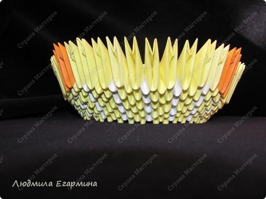 Мастер-класс,  Оригами модульное, : Пасхальная курочка Ряба. Бумага Пасха, . Фото 8