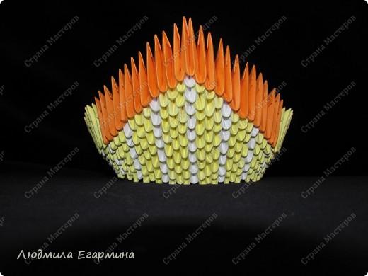 Мастер-класс,  Оригами модульное, : Пасхальная курочка Ряба. Бумага Пасха, . Фото 9