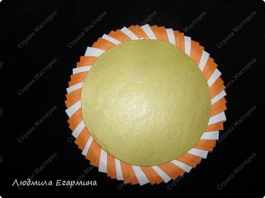 Мастер-класс,  Оригами модульное, : Пасхальная курочка Ряба. Бумага Пасха, . Фото 18