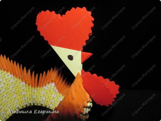 Мастер-класс,  Оригами модульное, : Пасхальная курочка Ряба. Бумага Пасха, . Фото 16