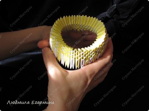 Мастер-класс,  Оригами модульное, : Пасхальная курочка Ряба. Бумага Пасха, . Фото 5
