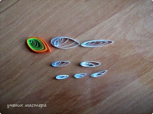 Картина, панно, Мастер-класс,  Квиллинг, : Сказочная гостья  Бумага . Фото 8