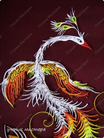 Картина, панно, Мастер-класс,  Квиллинг, : Сказочная гостья  Бумага . Фото 4