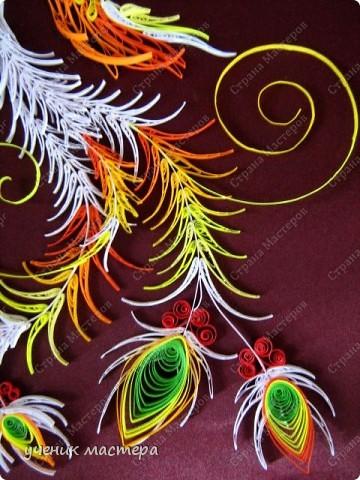 Картина, панно, Мастер-класс,  Квиллинг, : Сказочная гостья  Бумага . Фото 5