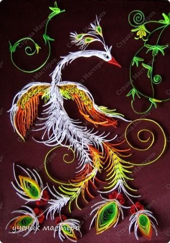 Картина, панно, Мастер-класс,  Квиллинг, : Сказочная гостья  Бумага . Фото 1