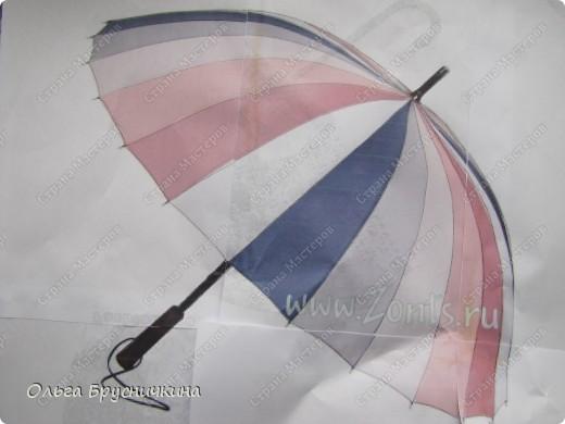 Декор предметов, Мастер-класс Декупаж: Ключница-зонтик для Барби. Акварель, Бисер, Бумага журнальная, Гуашь, Нитки, Тесьма. Фото 2
