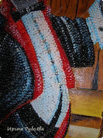 Картина, панно Аппликация: Зёрнышко к зёрнышку. Фотогалерея работ. Крупа, Материал природный. Фото 13