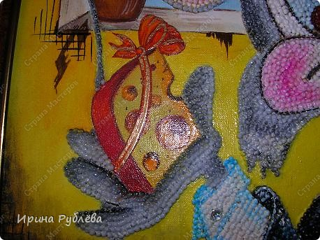 Картина, панно Аппликация: Зёрнышко к зёрнышку. Фотогалерея работ. Крупа, Материал природный. Фото 14