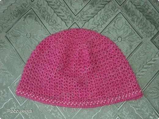Ажурные вязаные шапочки для детей