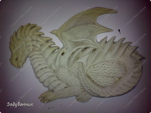 Мастер-класс, Поделка, изделие,  Лепка, : Дракон из солёного теста. МК. Часть 1. Тесто соленое . Фото 23