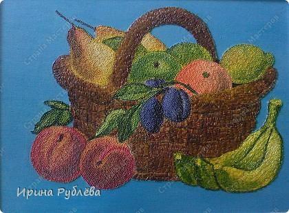 Картина, панно Аппликация: Зёрнышко к зёрнышку. Фотогалерея работ. Крупа, Материал природный. Фото 23