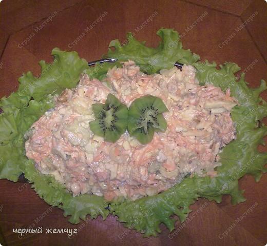 Очень легкий и вкусный салат.. Фото 8