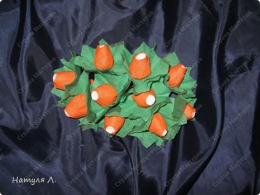 Флористика Бумагопластика: Розовое дерево (+мини МК) Дерево, Салфетки 8 марта, Валентинов день, День рождения. Фото 8