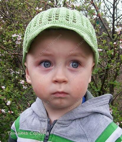 Вязание летней кепки для мальчика