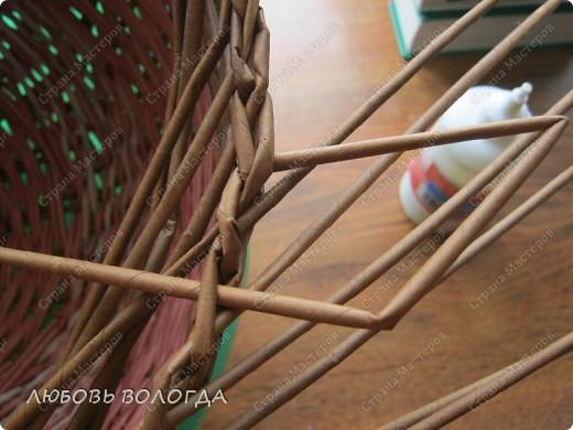 Мастер-класс, Поделка, изделие Плетение: Колпак Колпакович Бумага газетная. Фото 8