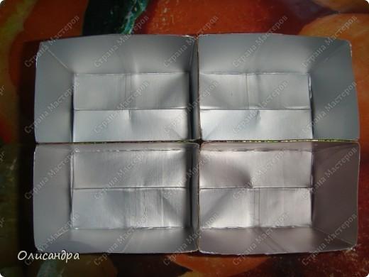 """Карточка АТС, Мастер-класс, Поделка, изделие Моделирование:  """"Сокровищехранилище""""...или коробочка для АТС из упаковки от  сока... Бисер, Бусинки, Картон, Клей, Коробки, Кружево, Материал  бросовый, Ткань. Фото 4"""