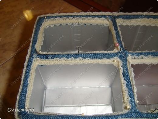 """Карточка АТС, Мастер-класс, Поделка, изделие Моделирование:  """"Сокровищехранилище""""...или коробочка для АТС из упаковки от  сока... Бисер, Бусинки, Картон, Клей, Коробки, Кружево, Материал  бросовый, Ткань. Фото 32"""