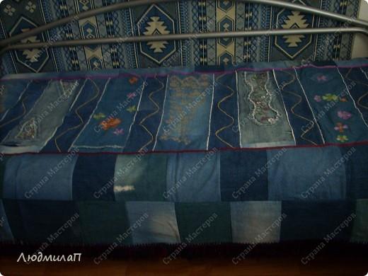 Интерьер Шитьё: Покрывала из джинсов.  Ткань Отдых.  Фото 5.