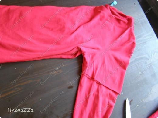 Гардероб, Мастер-класс Моделирование: Легким движением ножниц футболка превращается в ... стильный топ Ткань Отдых. Фото 3