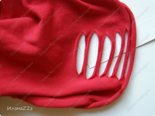 Гардероб, Мастер-класс Моделирование: Легким движением ножниц футболка превращается в ... стильный топ Ткань Отдых. Фото 12