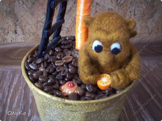 Фэн-шуй: Кофейный топиарий. Фото 4