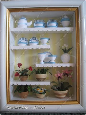 Поделка, изделие Квиллинг: Посудка Бумага. Фото 5