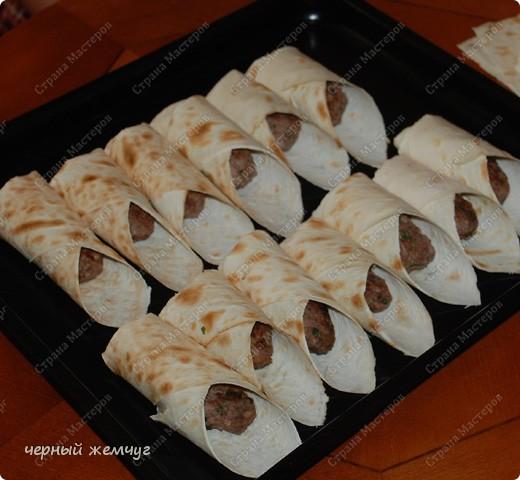 Кулинария, Мастер-класс Рецепт кулинарный: Мини-люля, запеченные в лаваше Продукты пищевые. Фото 8