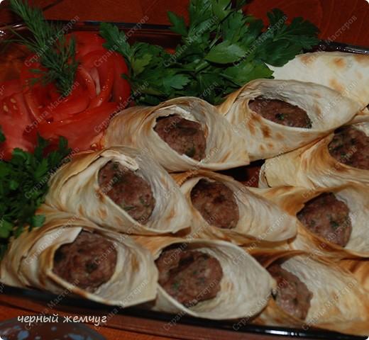 Кулинария, Мастер-класс Рецепт кулинарный: Мини-люля, запеченные в лаваше Продукты пищевые. Фото 10