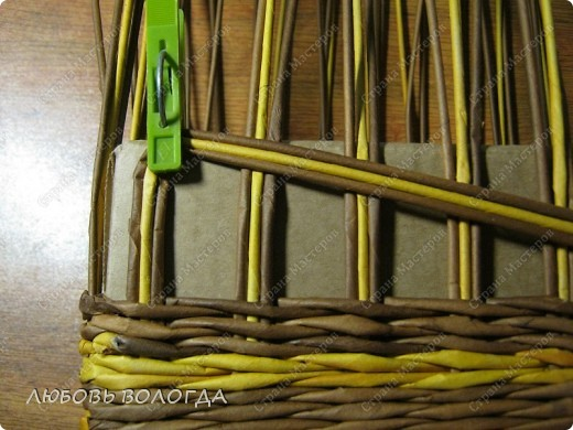 Мастер-класс, Поделка, изделие Плетение: Кузовок и мини МК Бумага газетная. Фото 7