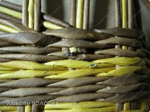 Мастер-класс, Поделка, изделие Плетение: Кузовок и мини МК Бумага газетная. Фото 10