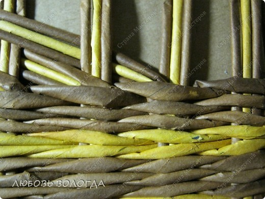 Мастер-класс, Поделка, изделие Плетение: Кузовок и мини МК Бумага газетная. Фото 11