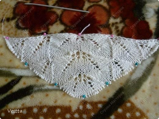 Ажурное вязание летняя кофта