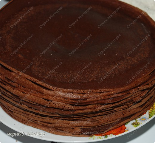 Шоколадный крем для блинного торта рецепт
