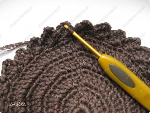 Гардероб, Мастер-класс Вязание крючком: Вяжем вместе: Кепочку Пряжа. Фото 5