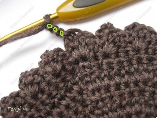 Гардероб, Мастер-класс Вязание крючком: Вяжем вместе: Кепочку Пряжа. Фото 7