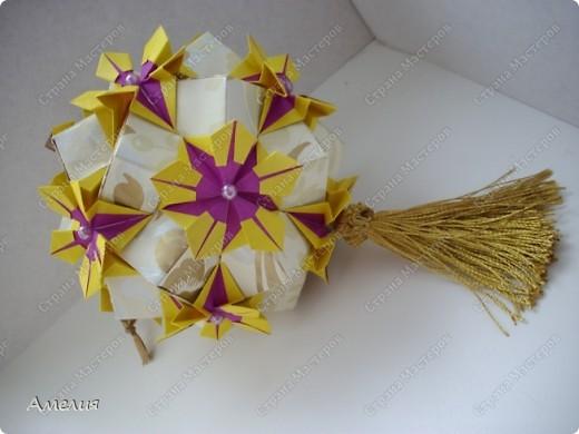 Мастер-класс Кусудама: Esfera Estrella Flor+МК Бумага Отдых. Фото 1