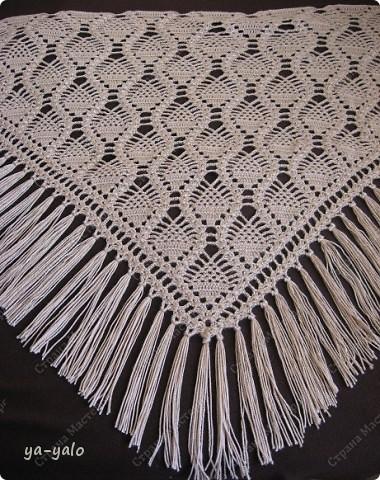 Гардероб Вязание крючком: ШАЛЬ С